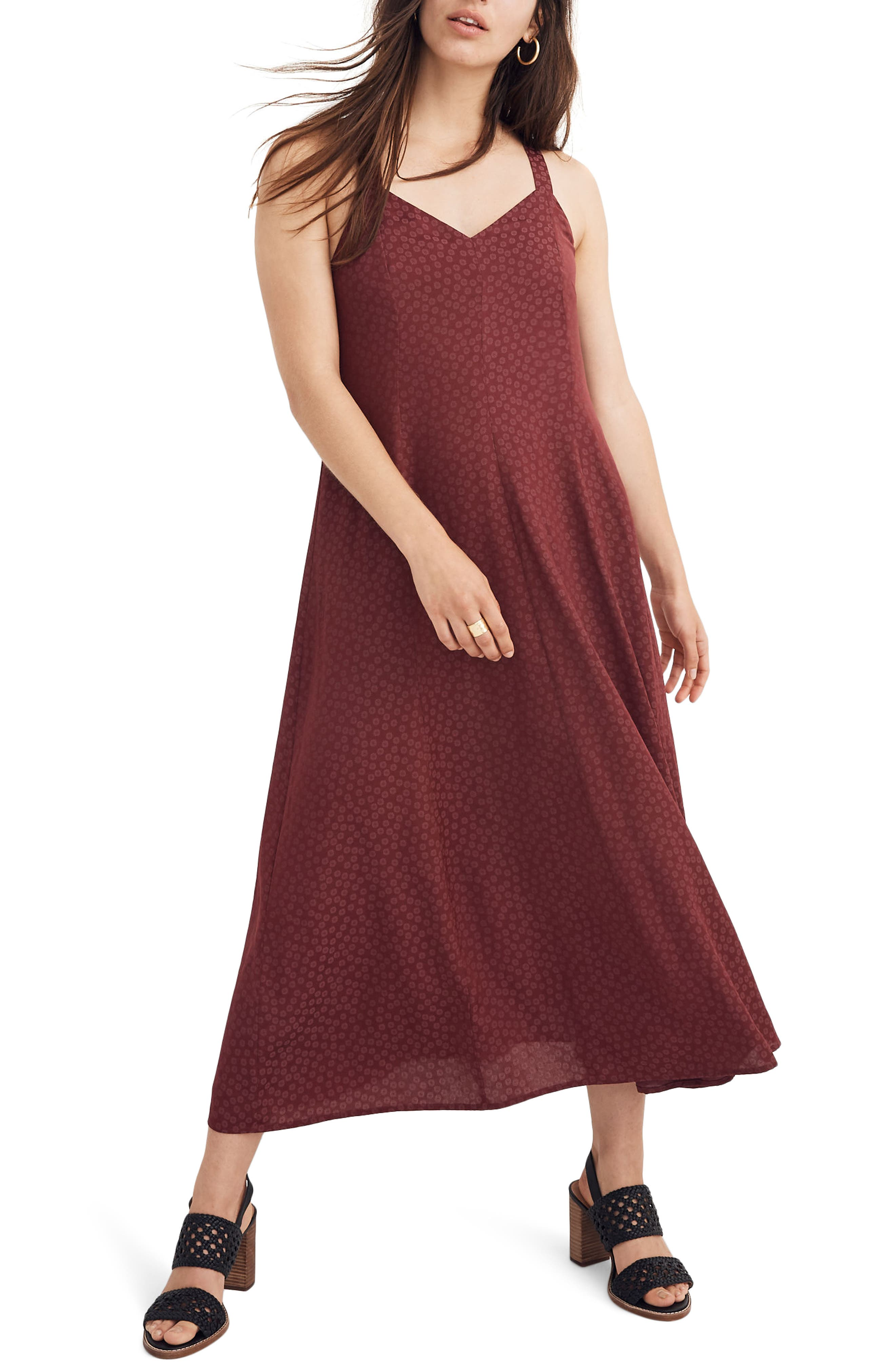 Madewell Cami Maxi Dress, Red