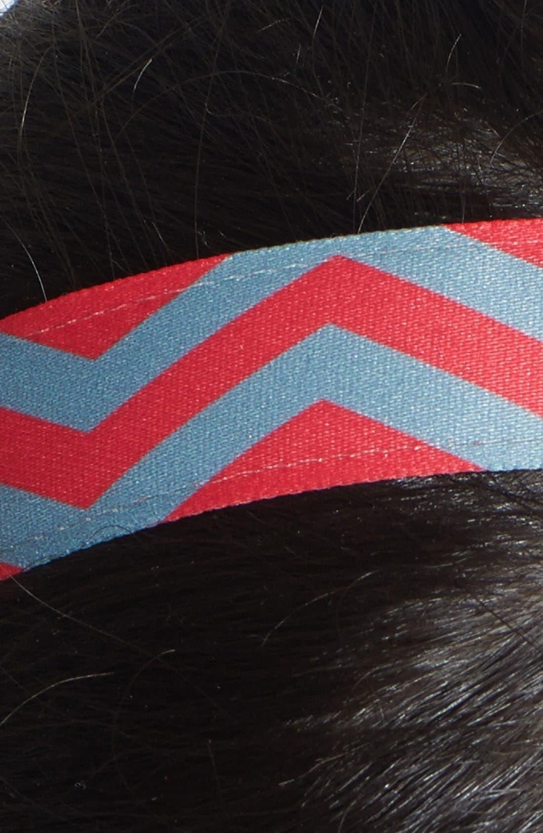 ,                             'Chevron Slide' Head Wrap,                             Alternate thumbnail 34, color,                             601
