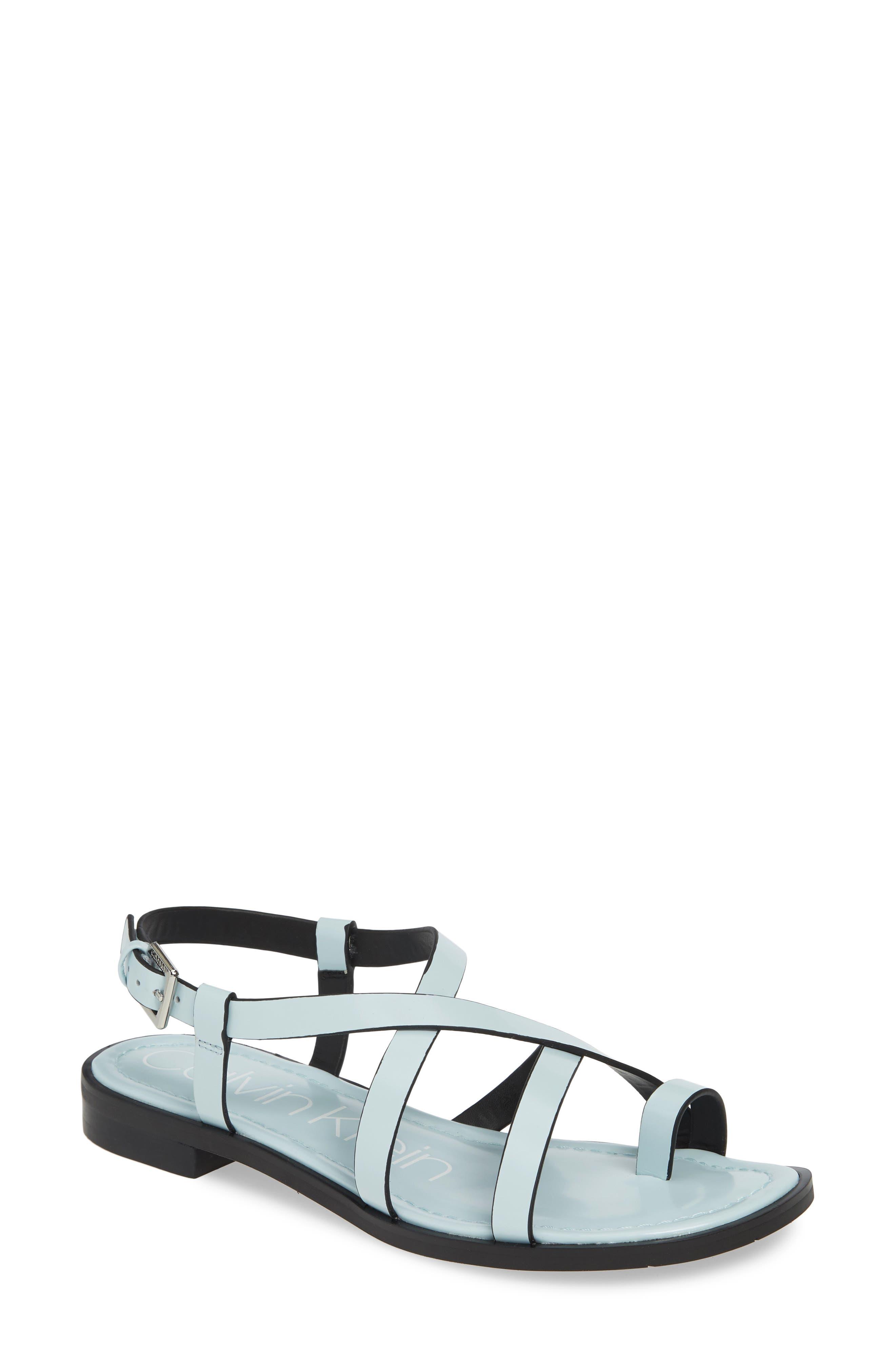 Calvin Klein Tica Sandal, Blue