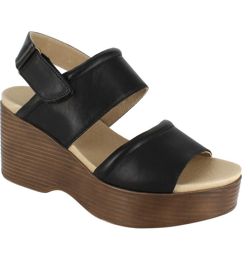 NATIONAL COMFORT Alisa Platform Sandal, Main, color, 002