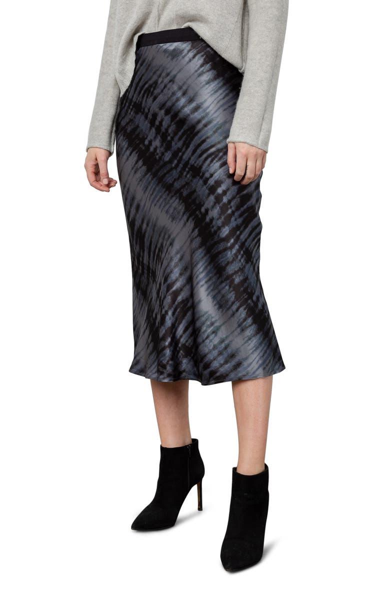 RAILS Berlin Midi Skirt, Main, color, BLACK TIDE