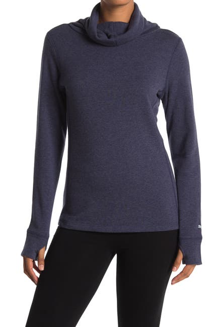 Image of PUMA Cowl Neck Thumbhole Sweater
