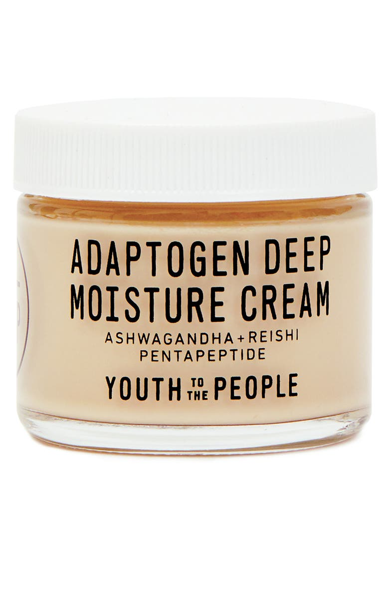 YOUTH TO THE PEOPLE Adaptogen Deep Moisture Cream, Main, color, NO COLOR