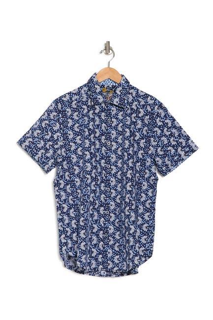 Image of Robert Graham Alicante Short Sleeve Shirt