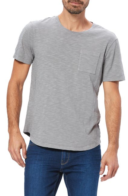 Image of PAIGE Kenneth Pocket Slub T-Shirt