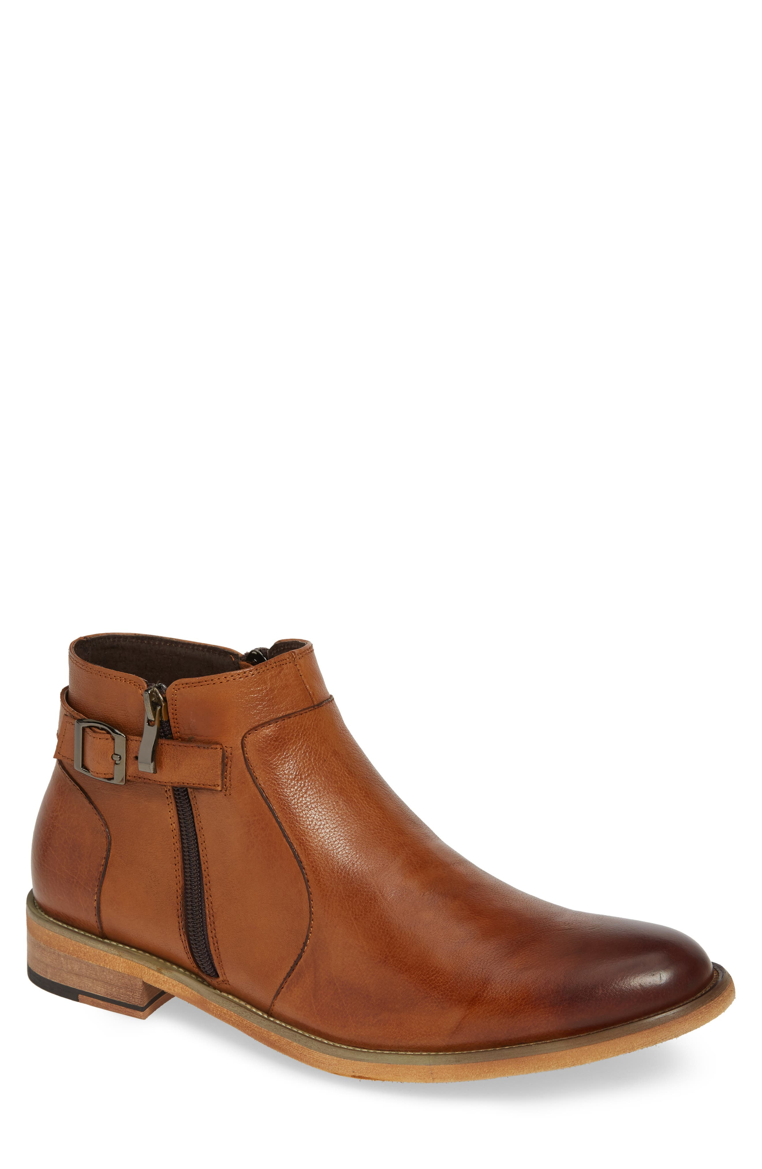 English Laundry Teddy Zip Boot- Brown