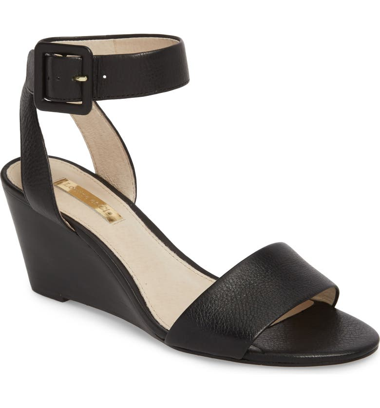 LOUISE ET CIE Punya Wedge Sandal, Main, color, 002