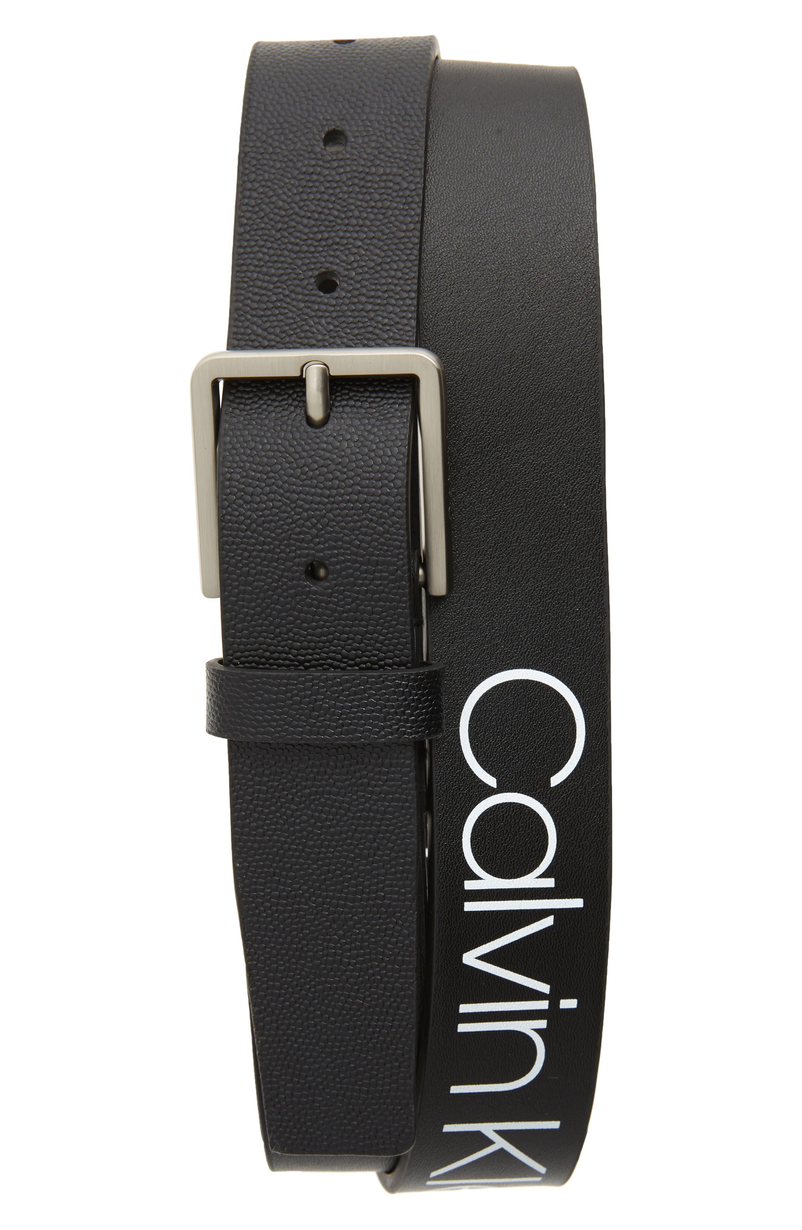 Calvin Klein Belts Faux Leather Belt