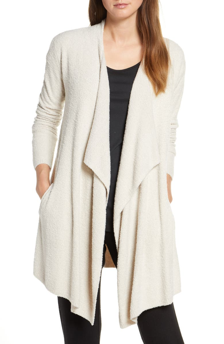 BAREFOOT DREAMS<SUP>®</SUP> CozyChic<sup>™</sup> Lite Island Cardigan, Main, color, BISQUE