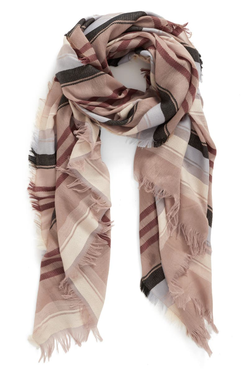 BP. Multi Stripe Scarf, Main, color, 285