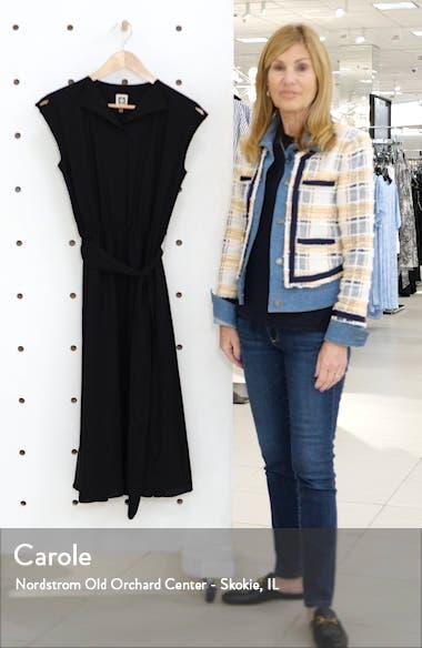 Envelope Collar Midi Dress, sales video thumbnail