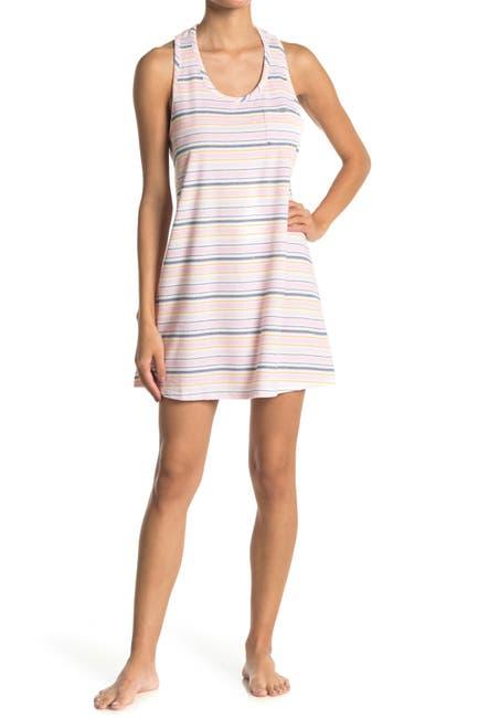 Image of Jane & Bleecker New York Stripe Print Sleep Dress