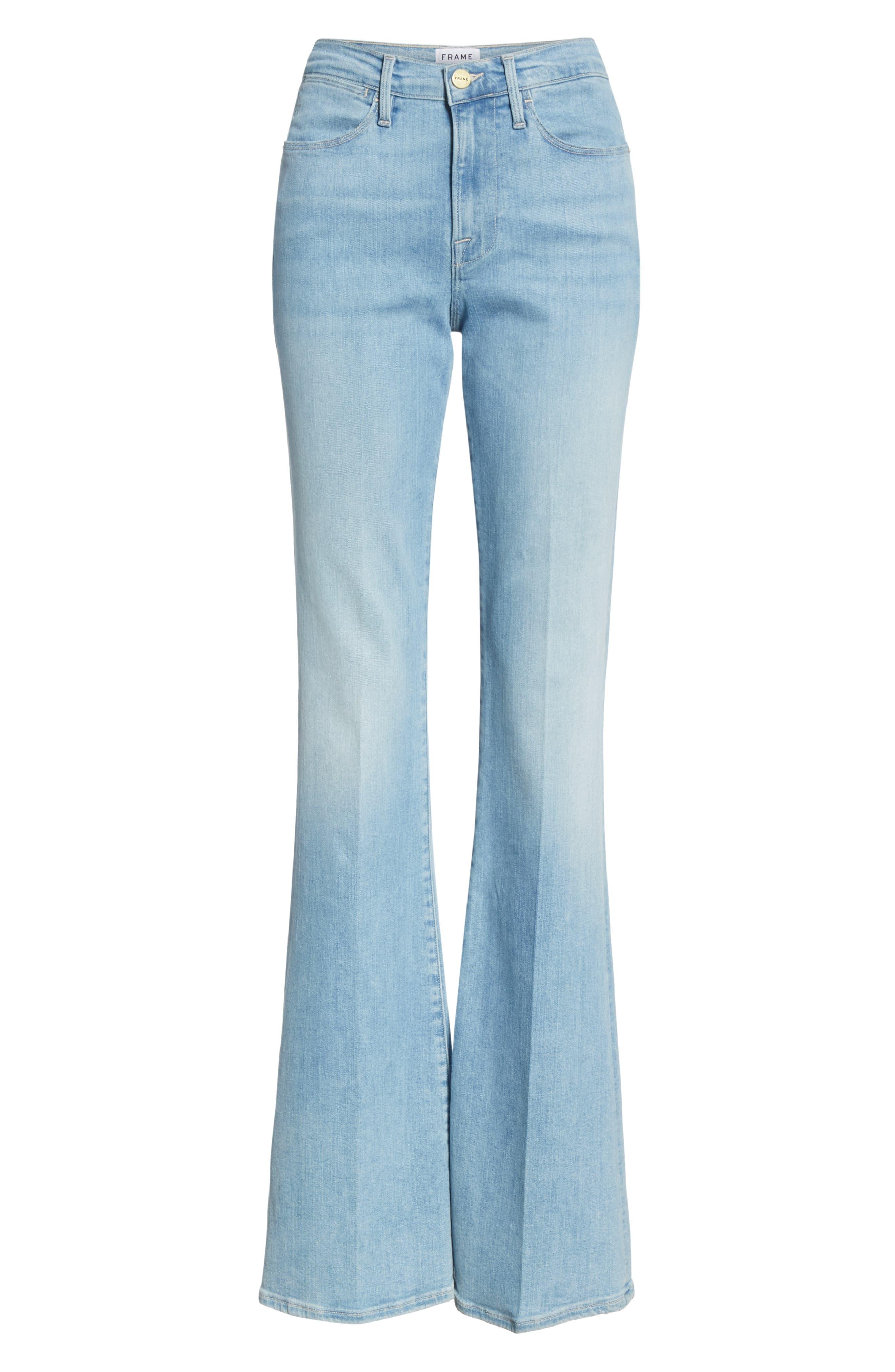 ,                             Le High Flare Jeans,                             Alternate thumbnail 13, color,                             450