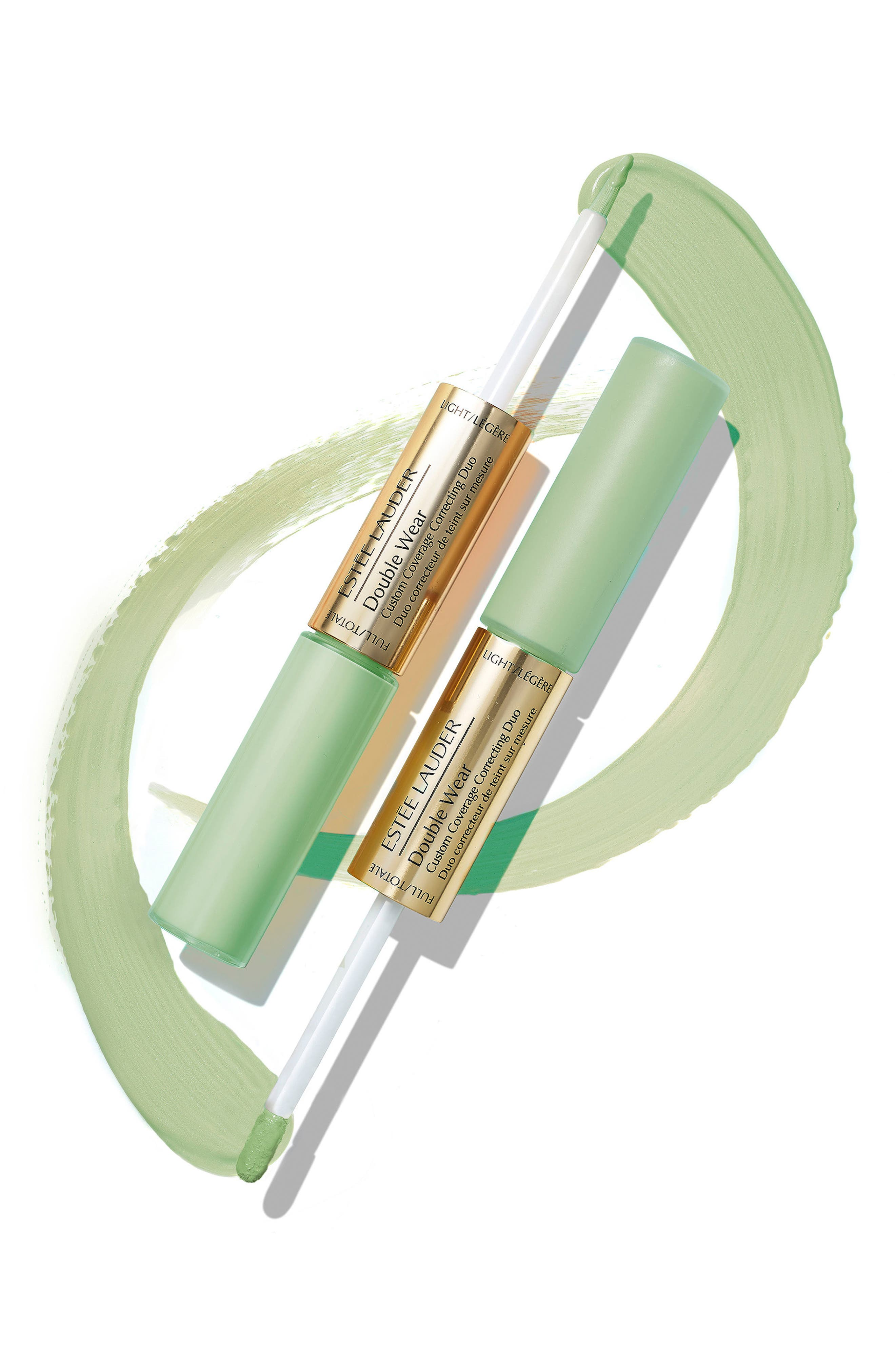 ,                             Double Wear Custom Coverage Color Correcting Duo,                             Alternate thumbnail 2, color,                             GREEN