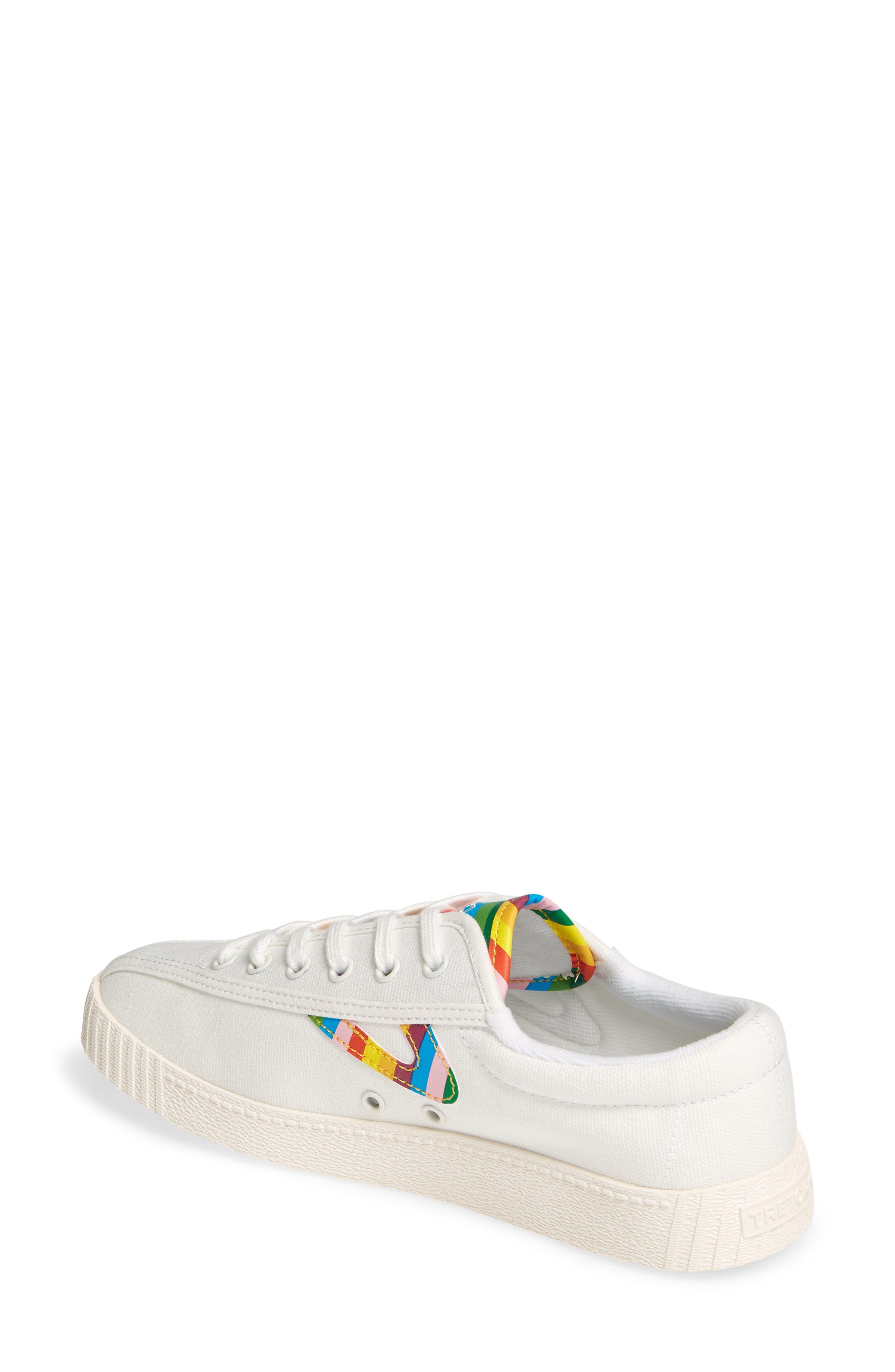 ,                             Nylite 28 Plus Sneaker,                             Alternate thumbnail 2, color,                             VINTAGE WHITE/ CLASSIC MULTI