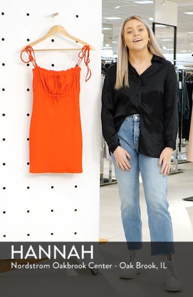 Saffron Minidress, sales video thumbnail