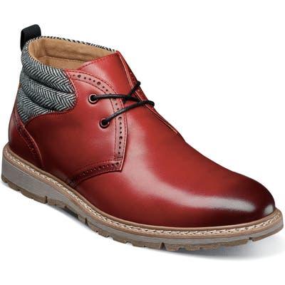 Stacy Adams Grantley Chukka Boot, Red