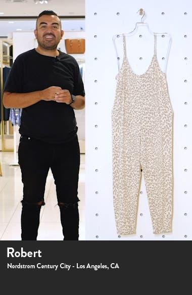 Print Knit Jumpsuit, sales video thumbnail