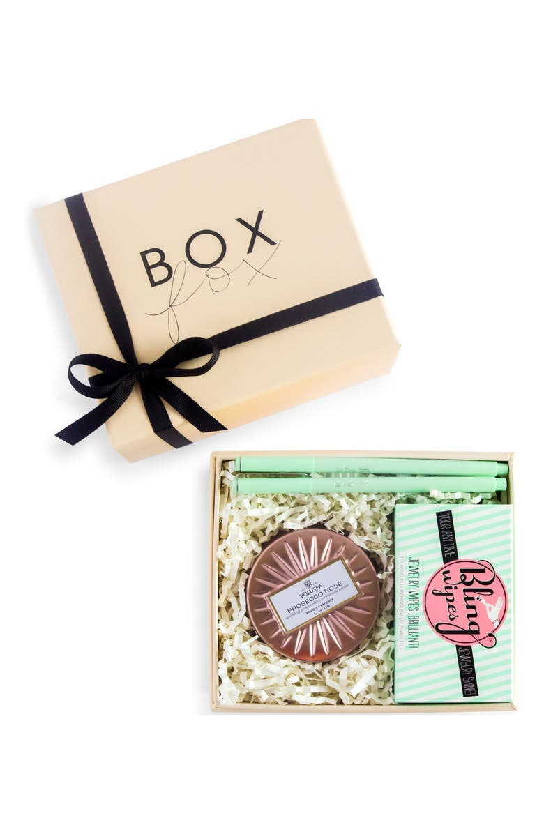 BOXFOX For the Bride Gift Box, Main, color, NUDE