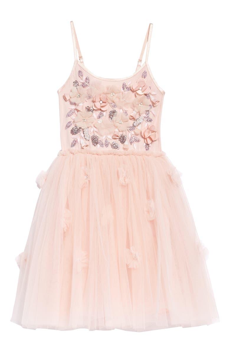TUTU DU MONDE Strawberry Fields Tutu Dress, Main, color, PINK CHABLIS