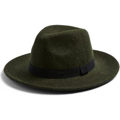 Topman Premium Fedora, Green