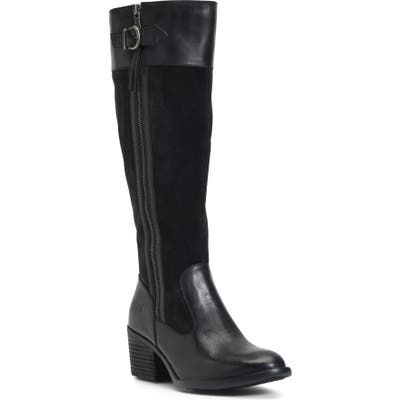 B?rn Uchee Knee High Boot, Regular Calf- Black