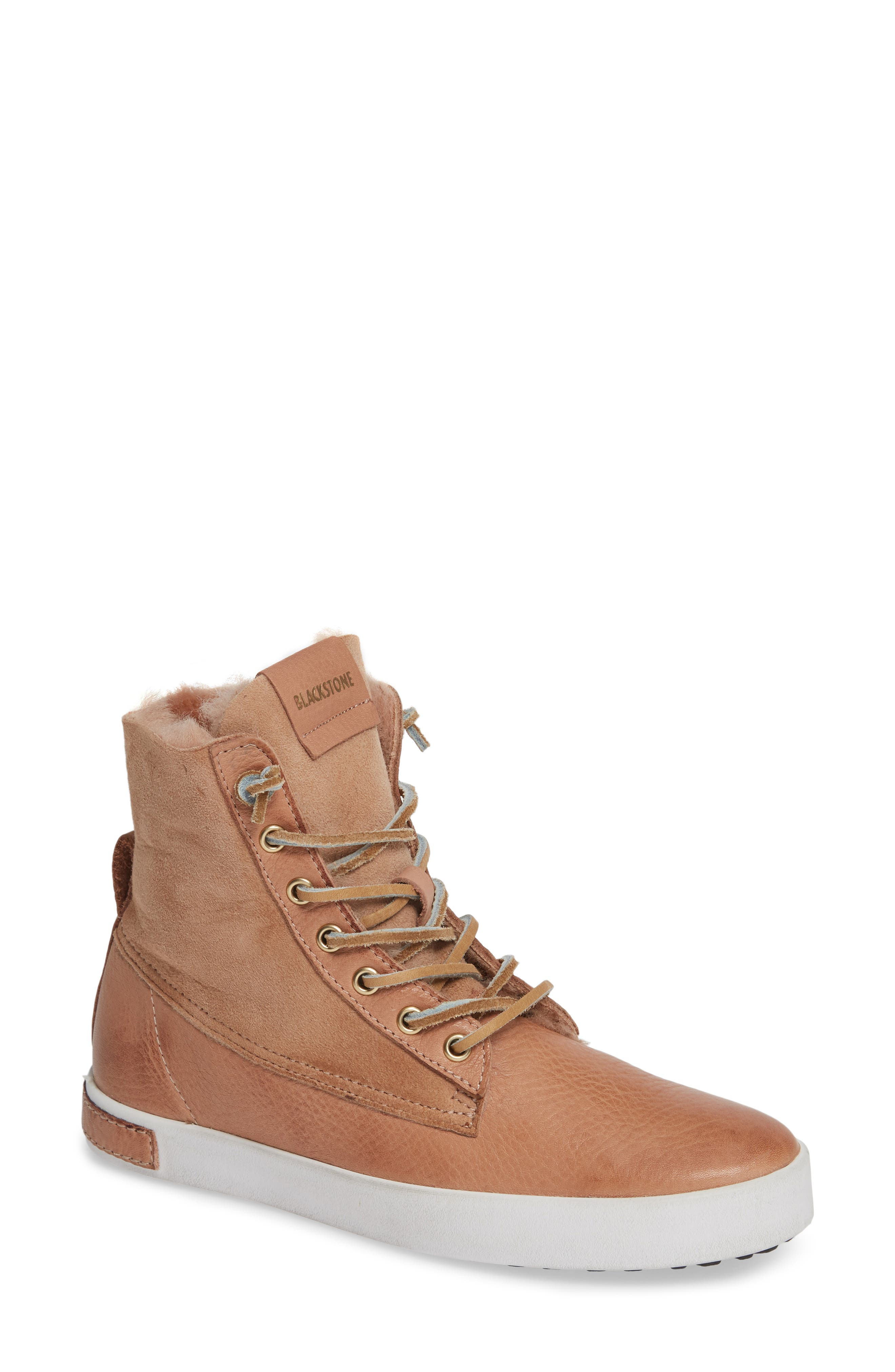 Ql46 Genuine Shearling Lined Sneaker Boot