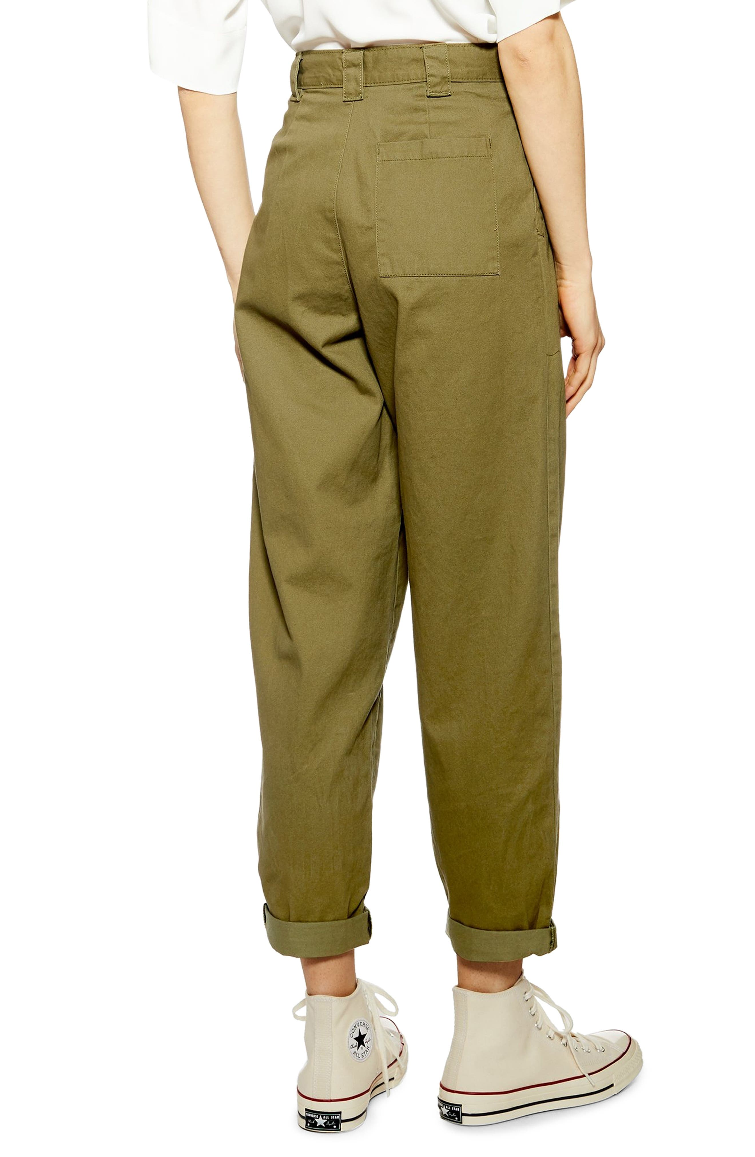 ,                             Caitlin Trousers,                             Alternate thumbnail 2, color,                             OLIVE