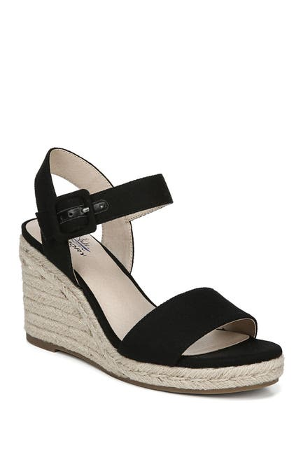 Image of LifeStride Tango  Espadrille Wedge Sandal - Wide Width Available