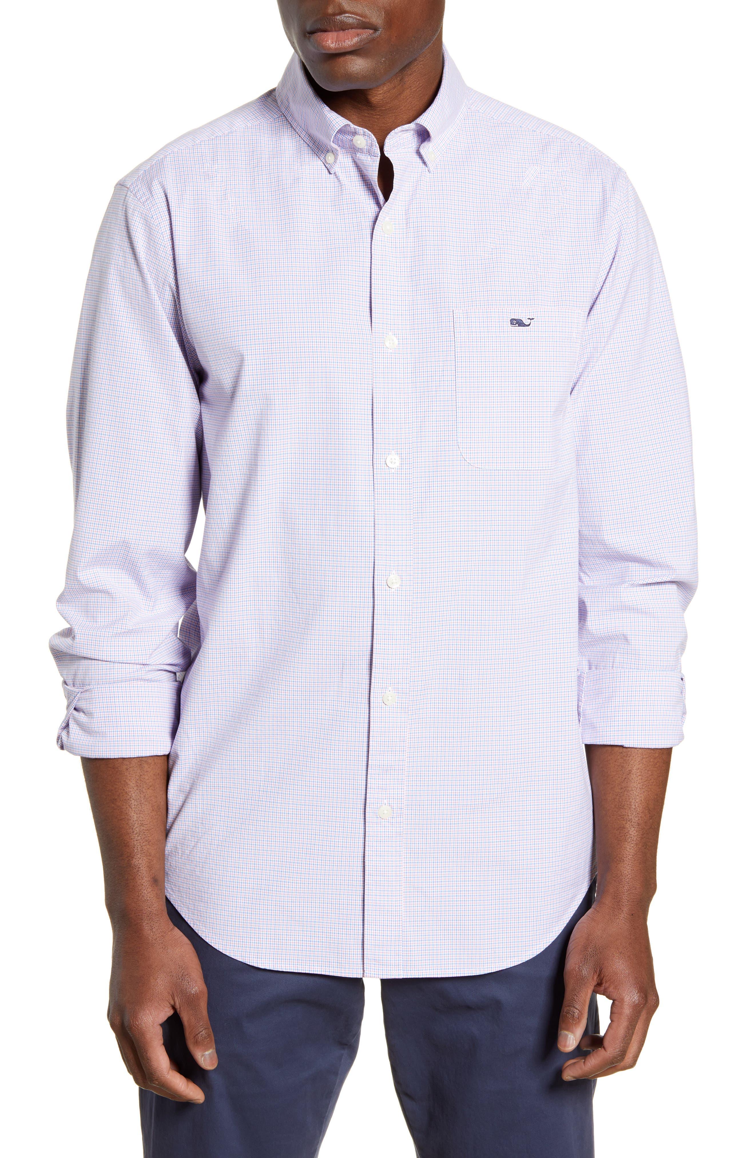 Vineyard Vines T-shirts Classic Fit Murray Tattersall Check Button-Down Shirt