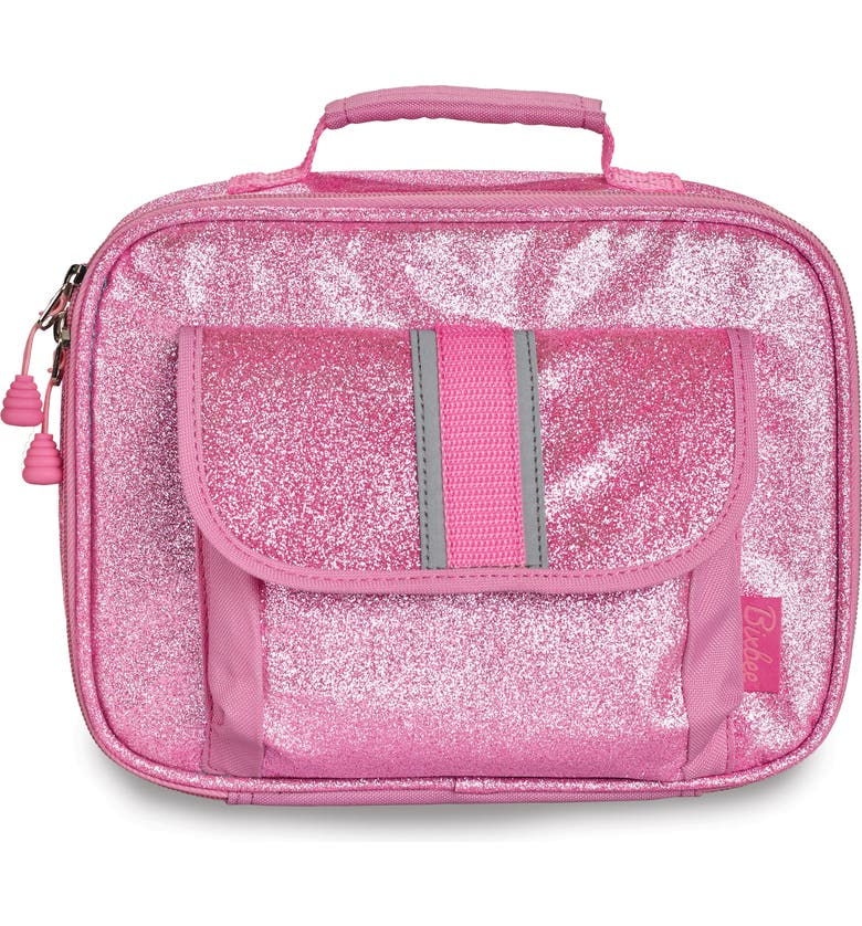 BIXBEE Sparkalicious Water Resistant Lunchbox, Main, color, PINK