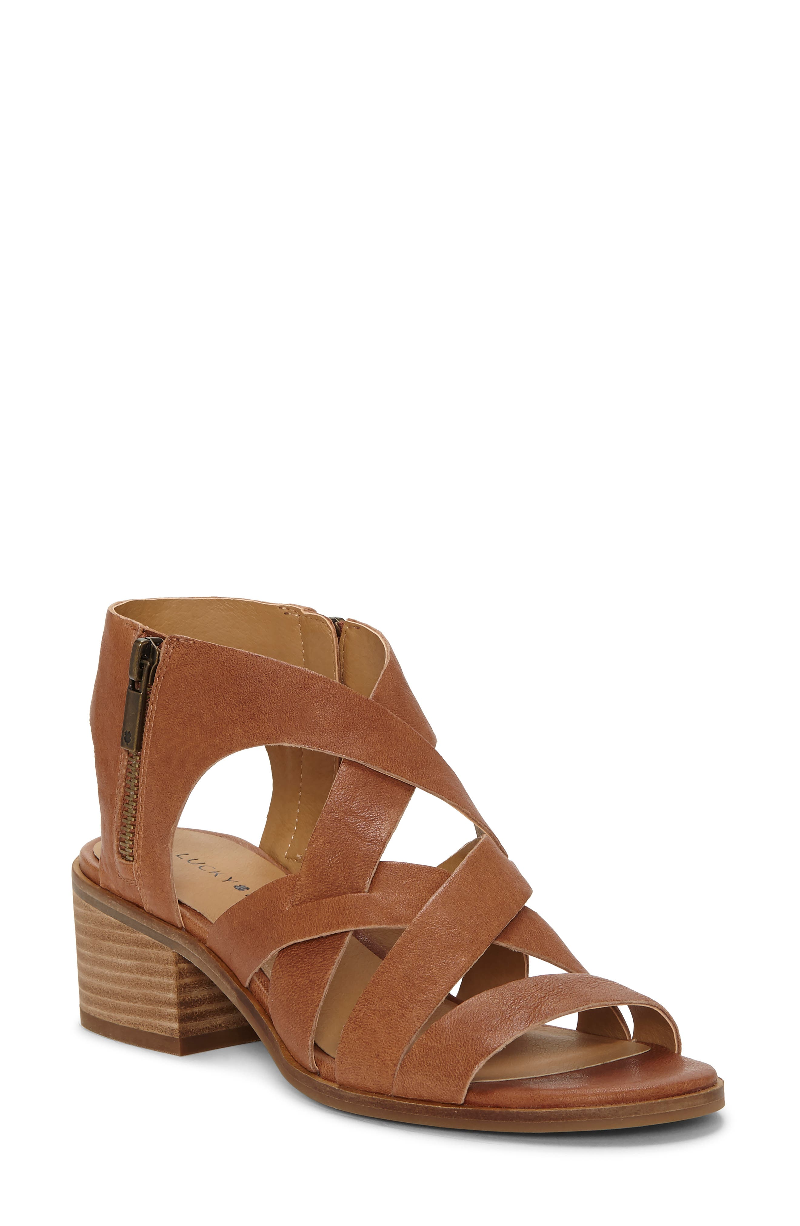 Lucky Brand Nayeli Sandal- Beige