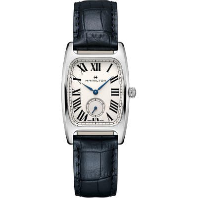 Hamilton American Classic Leather Strap Watch, 27mm mm