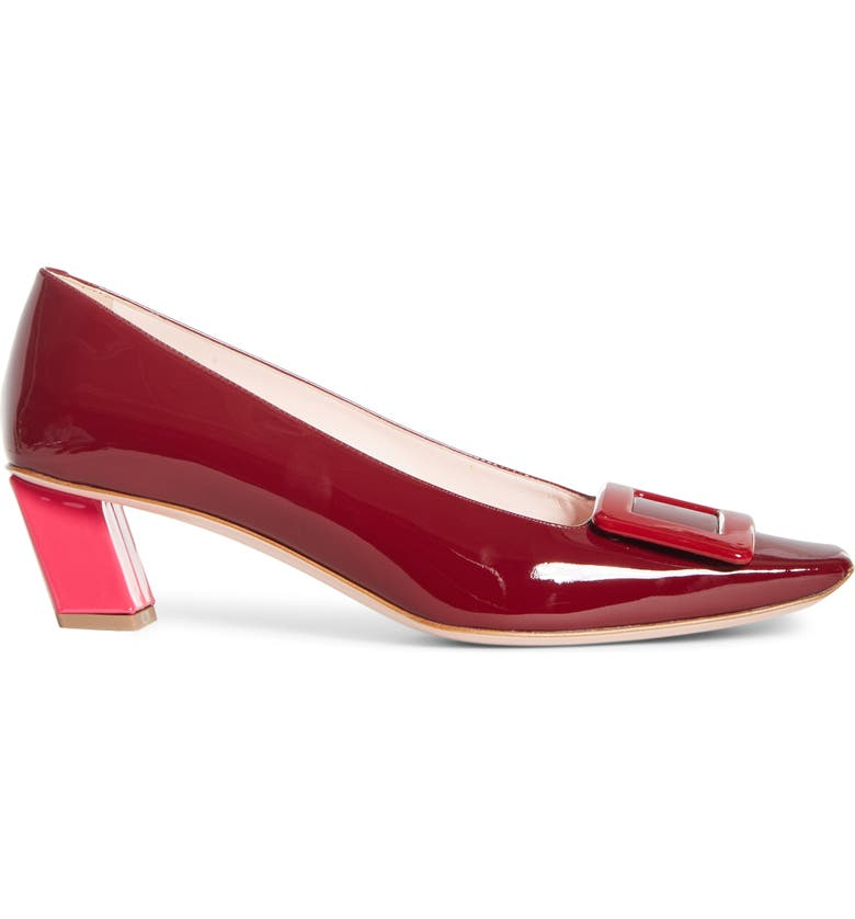 Belle Vivier Colorblock Pump by Roger Vivier