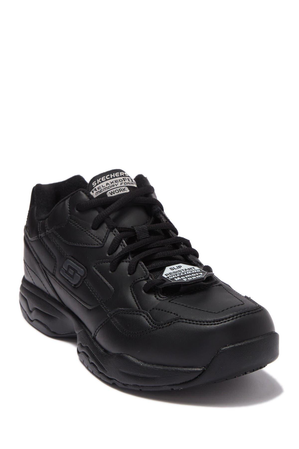 Image of Skechers Relaxed Fit Felton Slip Resistant Sneaker