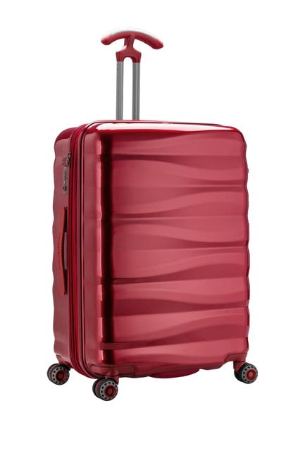 "Image of Traveler's Choice Luggage Edinburgh 26"" Hardside Spinner Suitcase"