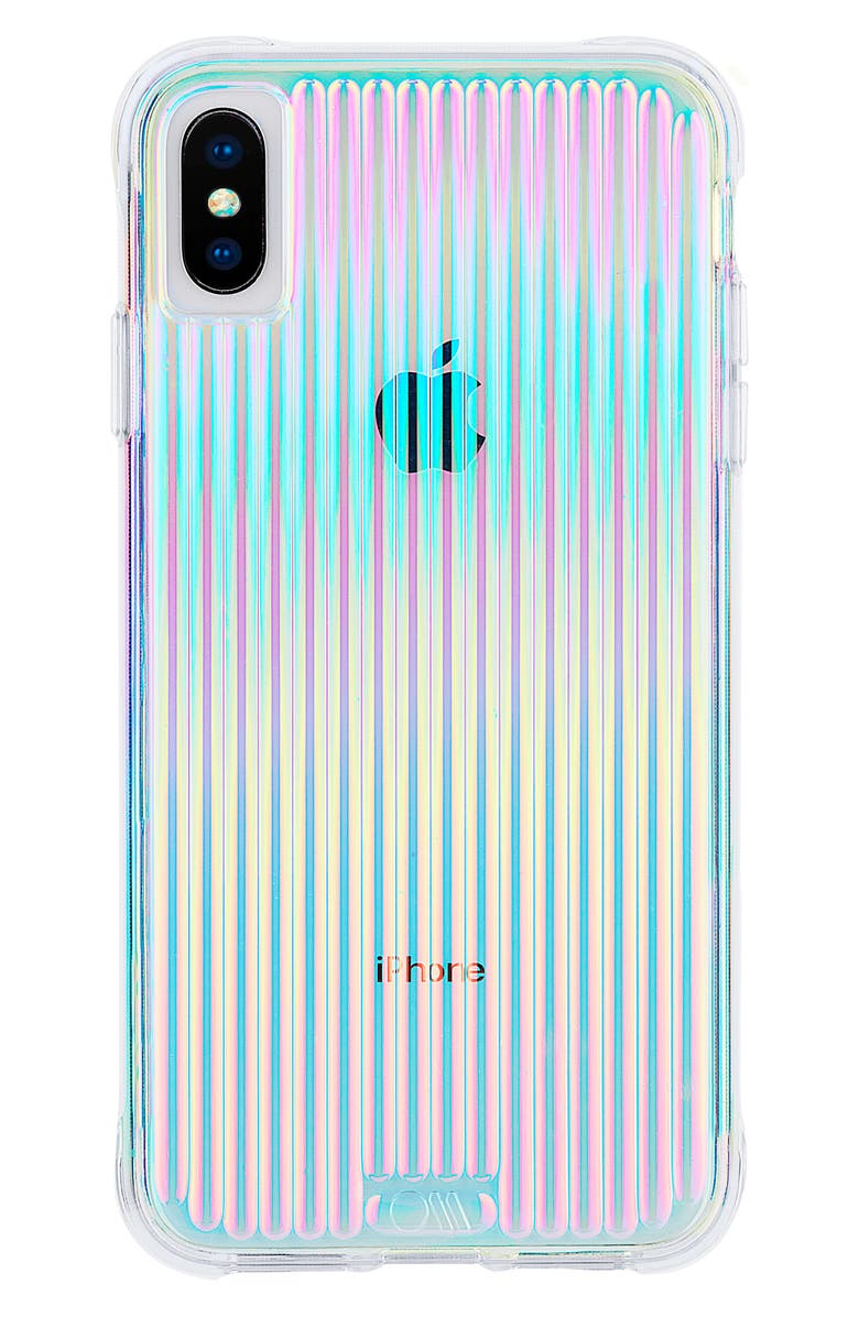 CASE-MATE<SUP>®</SUP> Tough Groove iPhone X/Xs & Xs Max Case, Main, color, 400