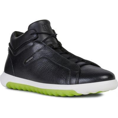 Geox Nexside 3 High Top Sneaker, Black