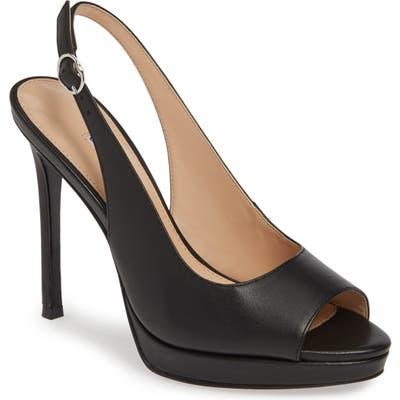 Charles David Stills Platform Sandal- Black