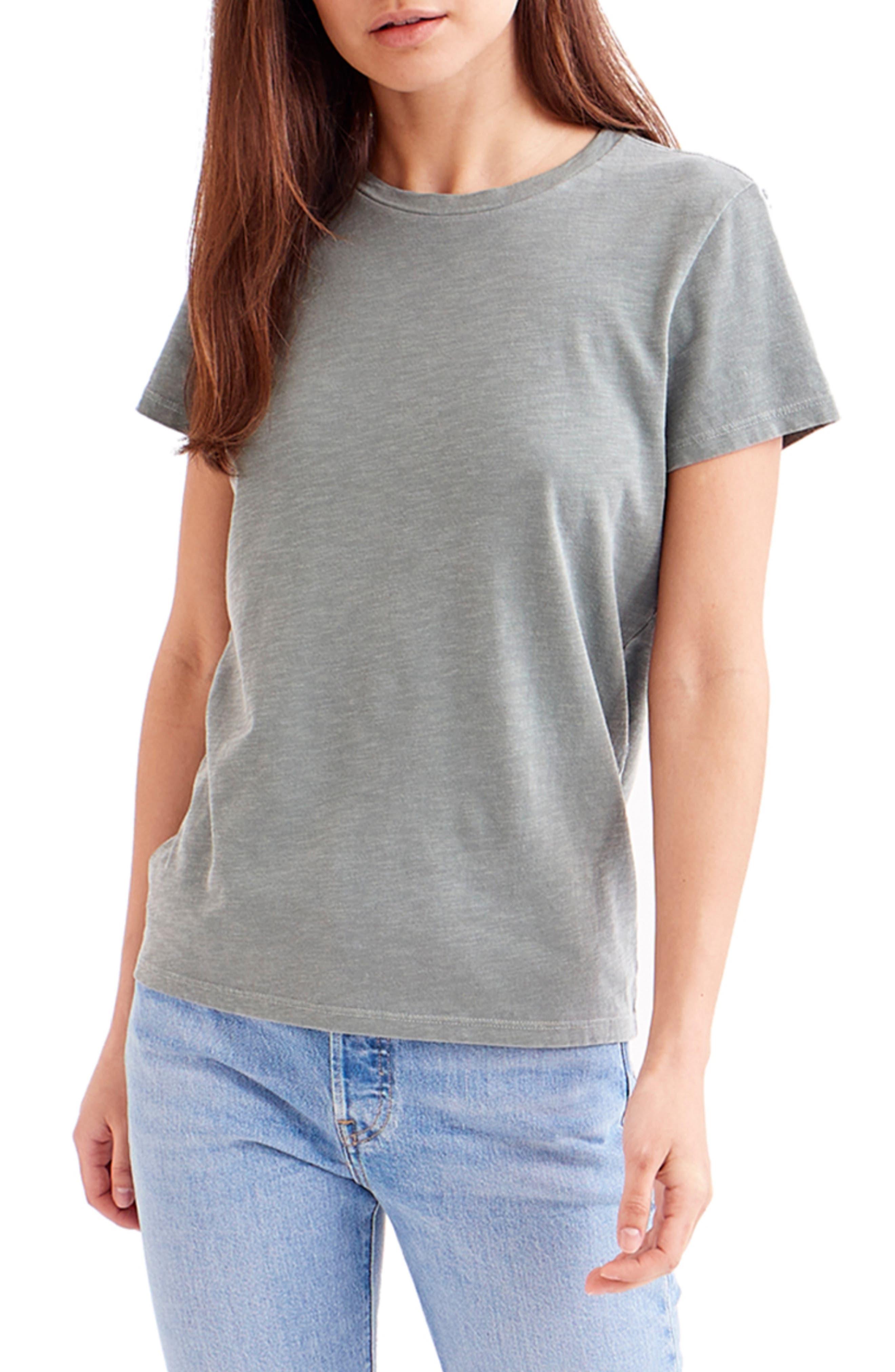 Sunfaded Everyday Cotton Slub T-Shirt