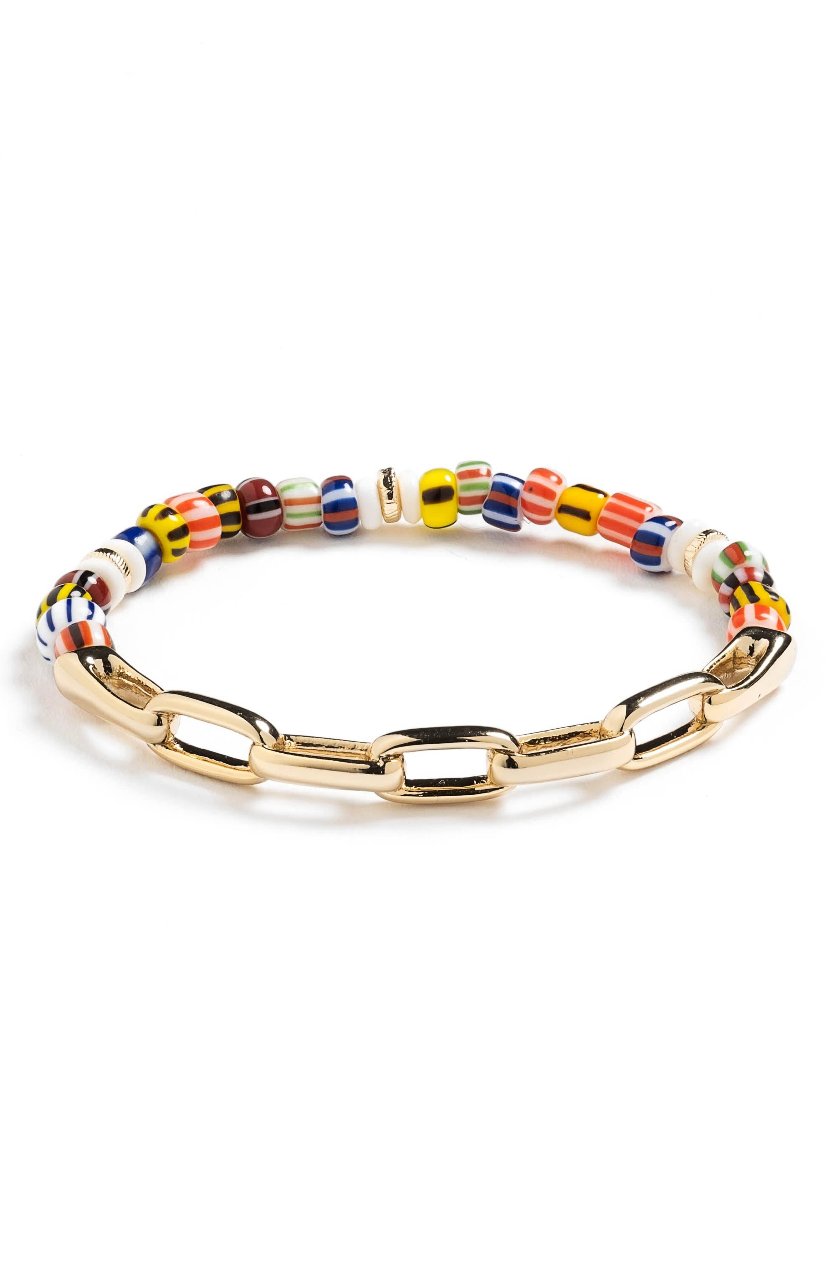Emma Beaded Stretch Bracelet