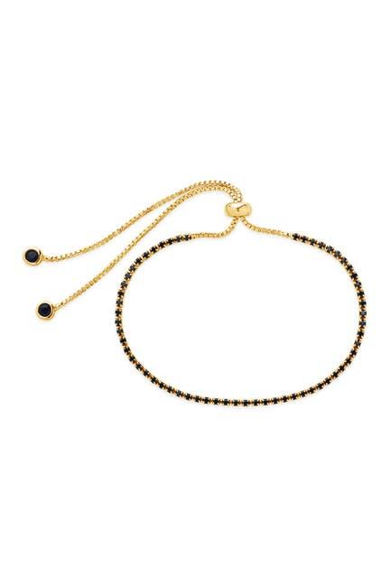 Image of Sterling Forever Black CZ Slider Bracelet