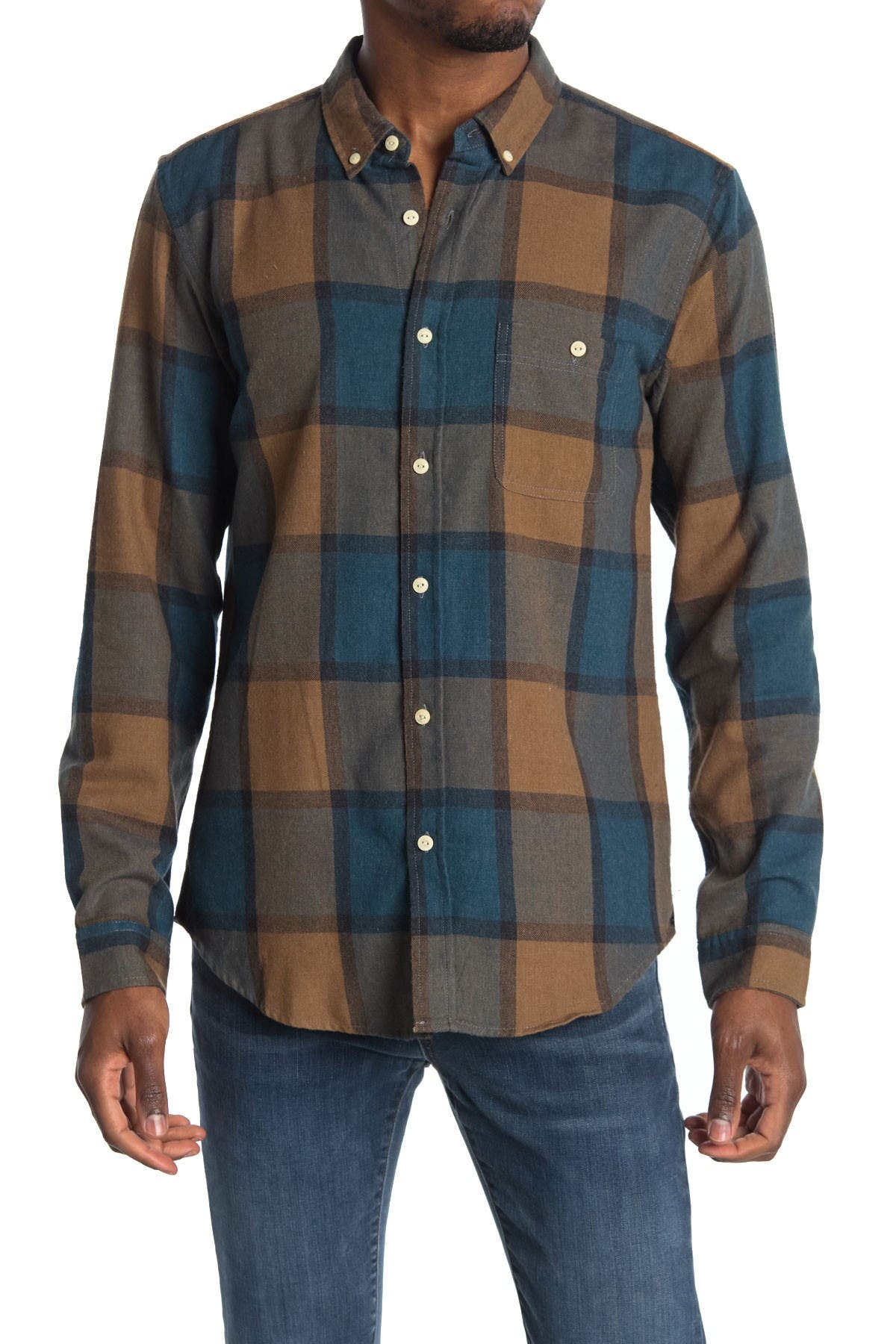 Image of Ezekiel Deuce Long Sleeve Woven Dress Shirt
