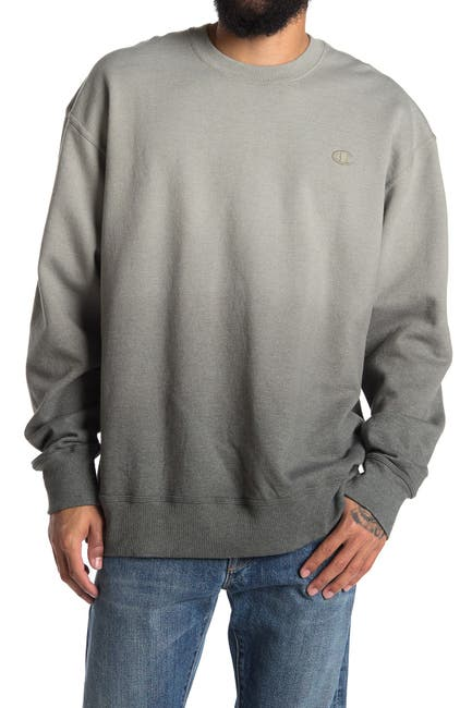 Image of Champion Powerblend Ombre Crew Neck Pullover
