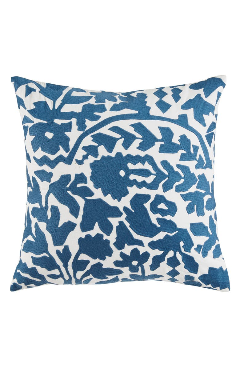 DWELLSTUDIO Oaxaca Floral Accent Pillow, Main, color, 410
