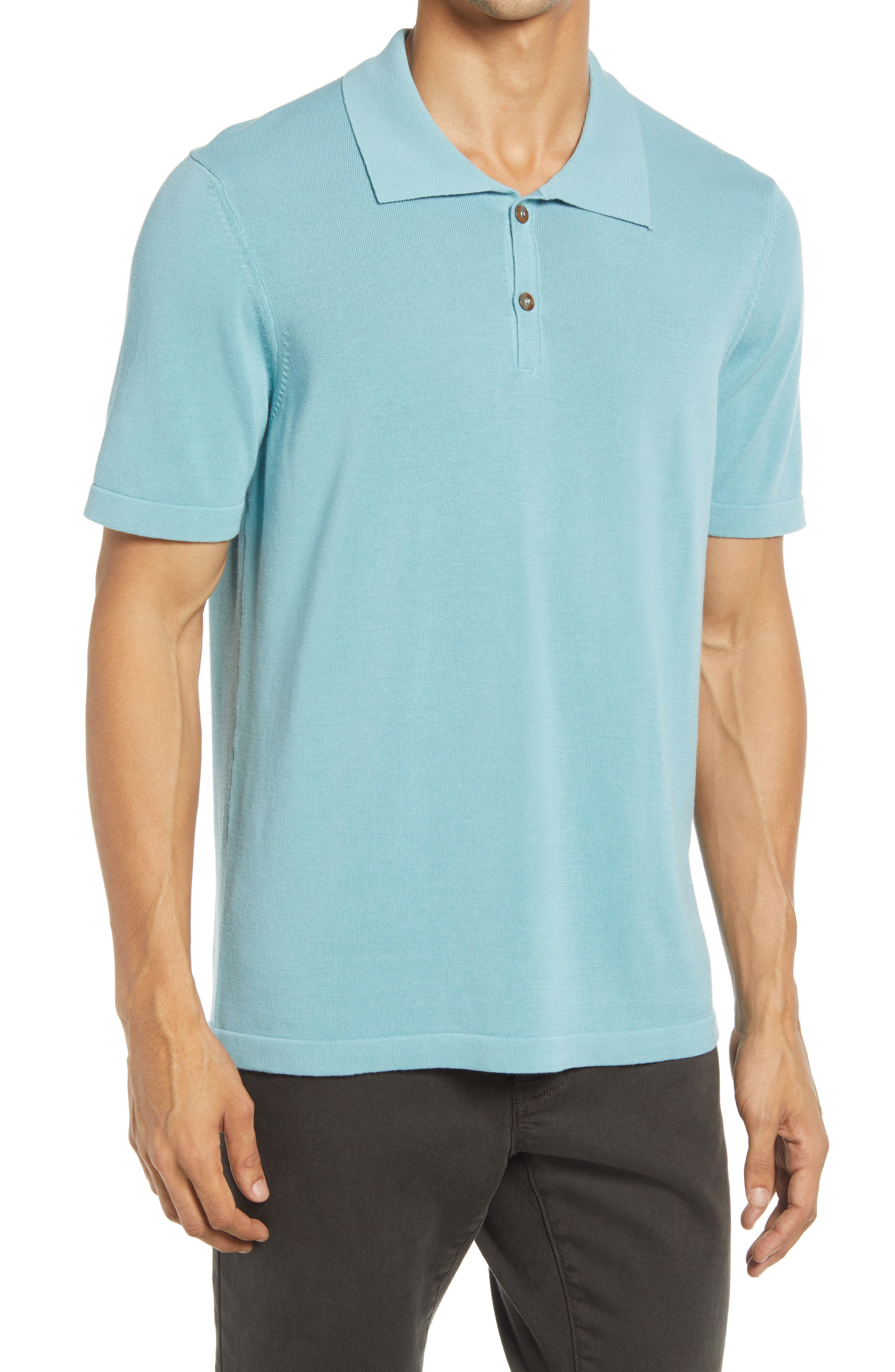 Elevated Essential Jersey Polo