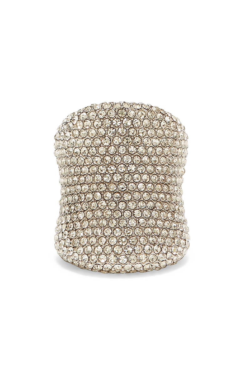 VINCE CAMUTO Pavé Band Ring, Main, color, SILVER