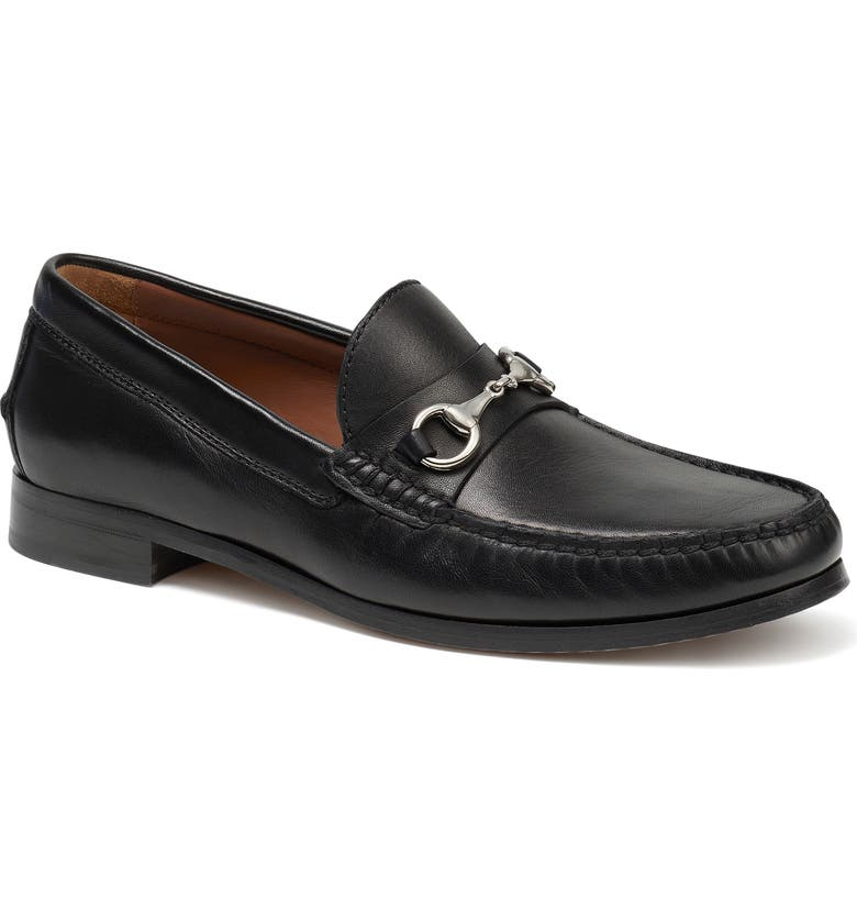 TRASK Seaton Bit Loafer, Main, color, BLACK