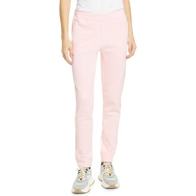 Moschino Teddy Patch Cotton Sweatpants, US / 46 IT - Pink