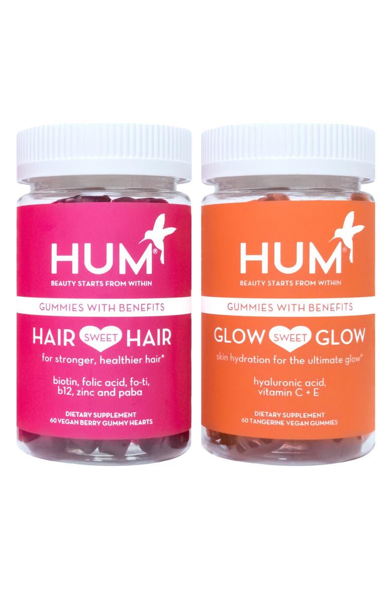 HUM NUTRITION Sweet Retreat Dietary Supplement Set, Main, color, 000